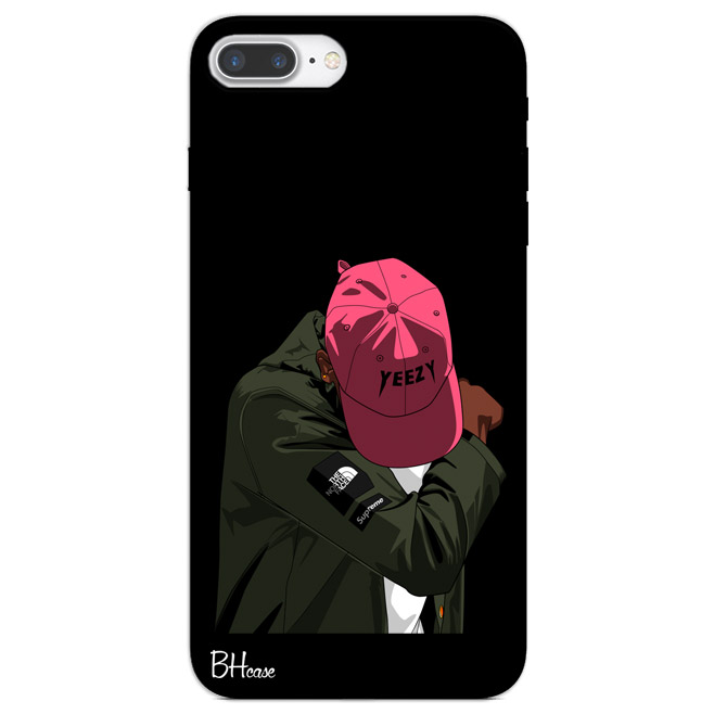 supreme faded yeezy boy case iphone 7 plus bhcase. Black Bedroom Furniture Sets. Home Design Ideas