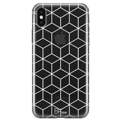 Cubic Grid Kryt iPhone X/XS