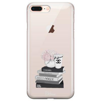 Chanel Vogue Books Kryt iPhone 7 Plus/8 Plus