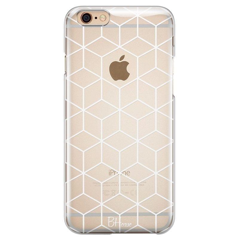 Cubic Grid Kryt iPhone 6/6S