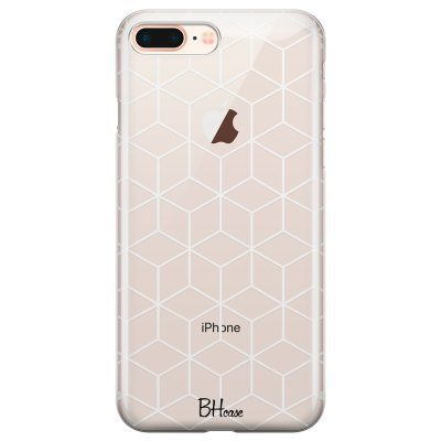Cubic Grid Kryt iPhone 7 Plus/8 Plus