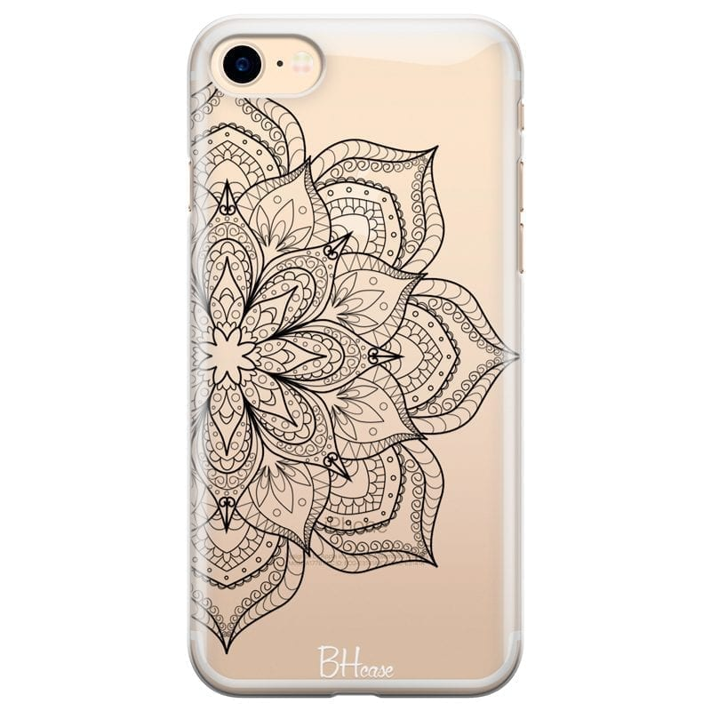 Flower Mandala Kryt iPhone 8/7/SE 2 2020