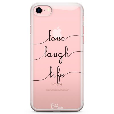 Love Laugh Life Kryt iPhone 7/8