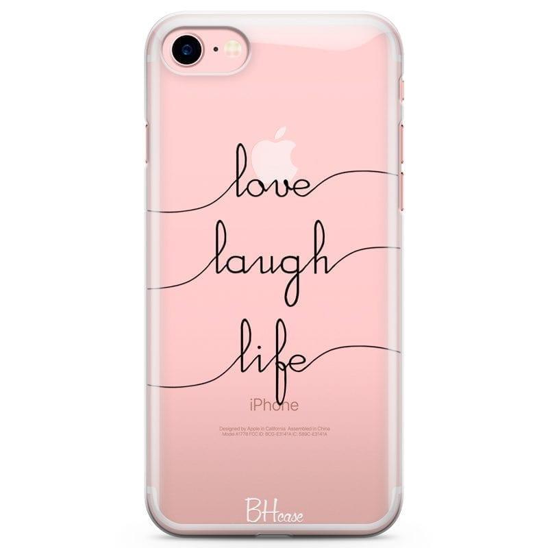 Love Laugh Life Kryt iPhone 7/8