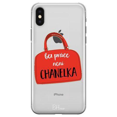Bez Práce Není Chanelka Kryt iPhone XS Max
