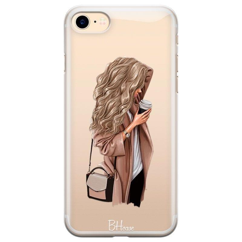 Morning Coffee Blonde Kryt iPhone 8/7/SE 2 2020