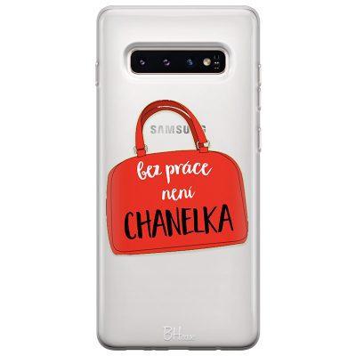 Bez Práce Není Chanelka Kryt Samsung S10 Plus