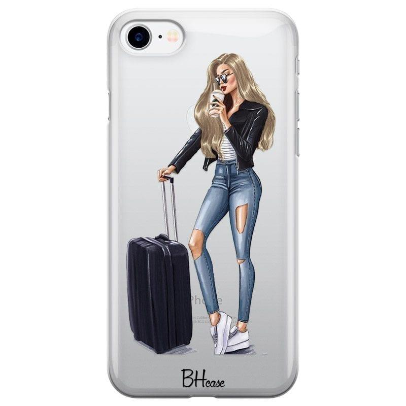 Woman Blonde With Baggage Kryt iPhone 8/7/SE 2 2020