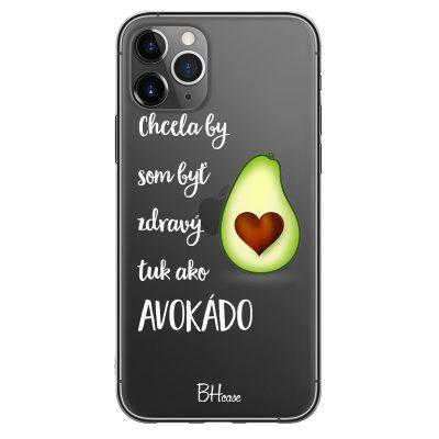 Chtěla Bych Být Avokádo Kryt iPhone 11 Pro Max