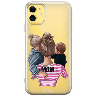 Mom Of Boy And Girl Kryt iPhone 11