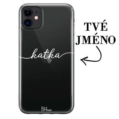 Kryt se jménem pro iPhone 11