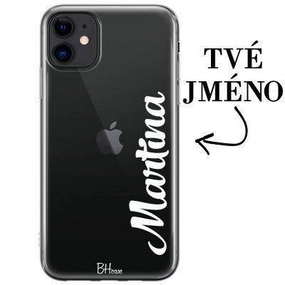 Kryt s vertikálním jménem pro iPhone 11