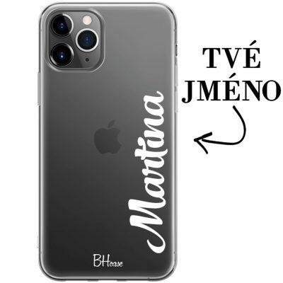 Kryt s vertikálním jménem pro iPhone 11 Pro Max
