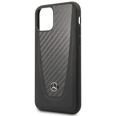 Mercedes Carbon Fiber Black Kryt iPhone 11