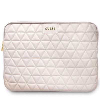 "Guess Quilted Kryt Notebook 13"" Pink"