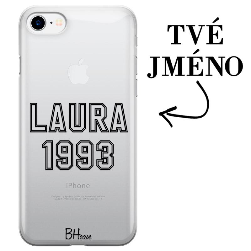 Kryt se jménem a číslem pro iPhone 8/7/SE 2 2020