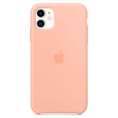 Apple Grapefruit Silicone Kryt iPhone 11