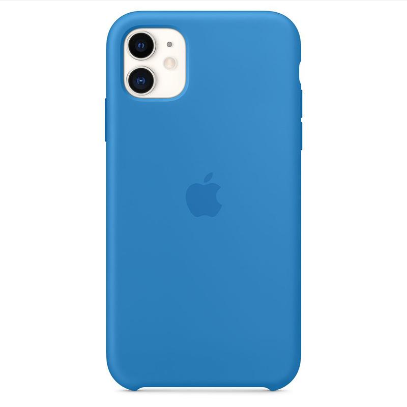 Apple Surf Blue Silicone Kryt iPhone 11