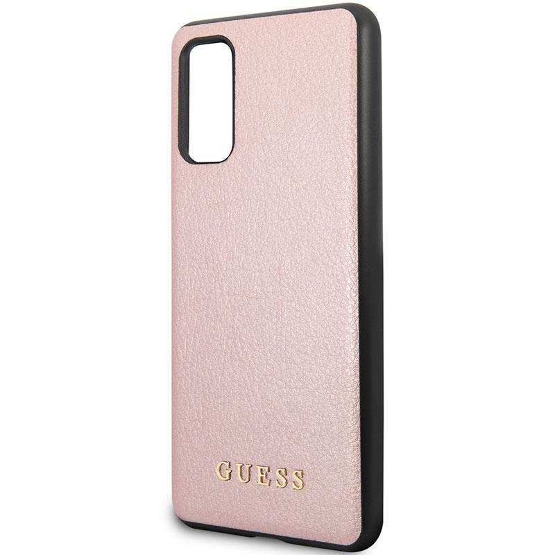 Guess Iridescent Rose Kryt Samsung S20