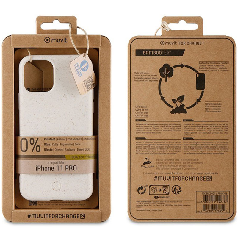 Muvit Eco Cotton Kryt iPhone 11 Pro