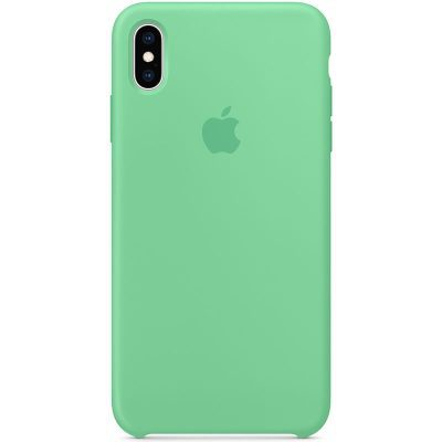 Apple Spearmint Silicone Kryt iPhone XS Max