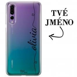 Kryt se srdíčkem a jménem pro Huawei P20 Pro