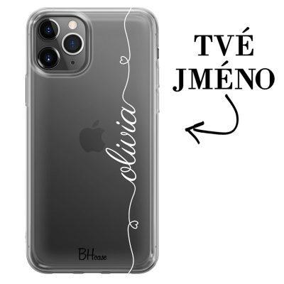 Kryt se srdíčkem a jménem pro iPhone 11 Pro