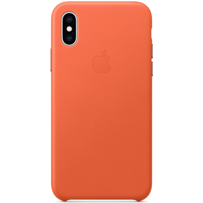 Apple Sunset Leather Kryt iPhone XS