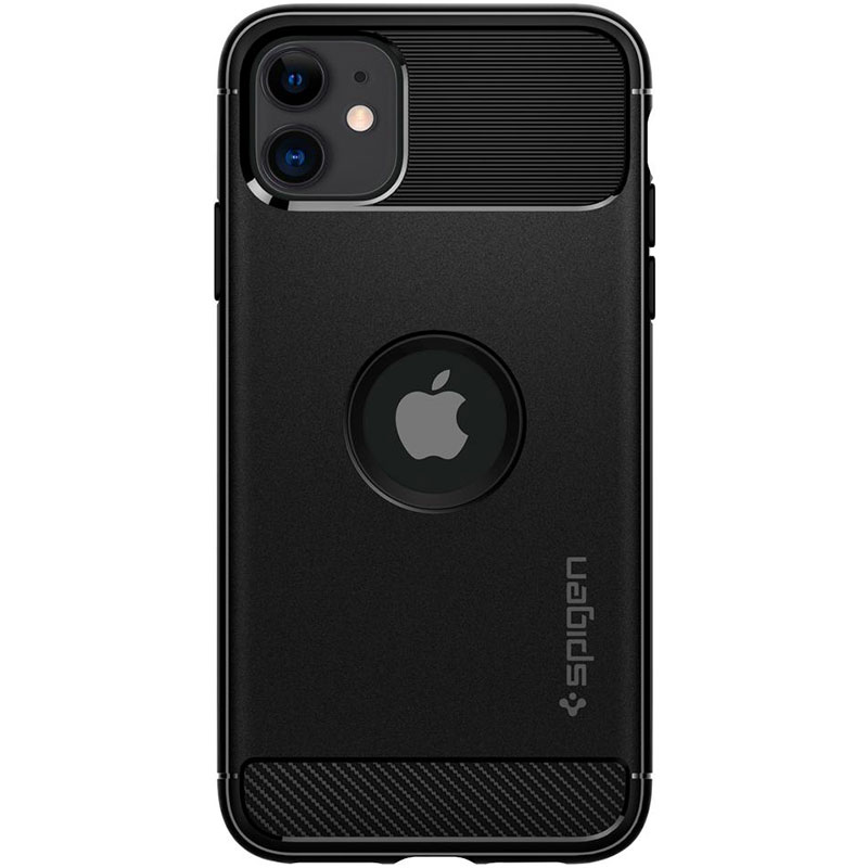 Spigen Rugged Armor Matte Black Kryt iPhone 11