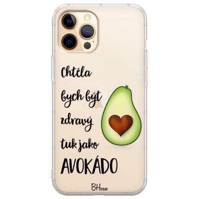 Chtěla Bych Být Avokádo Kryt iPhone 12 Pro Max