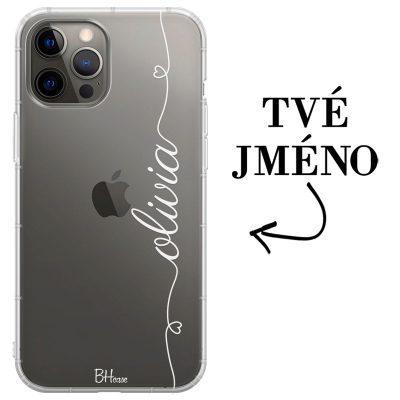 Kryt se srdíčkem a jménem pro iPhone 12 Pro Max