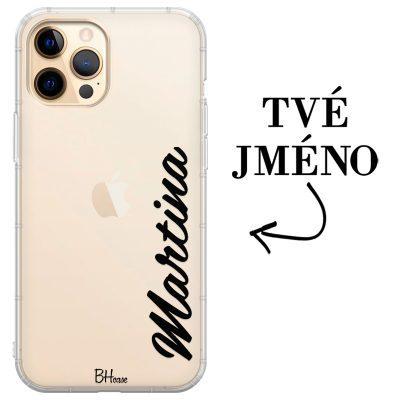 Kryt s vertikálním jménem pro iPhone 12 Pro Max